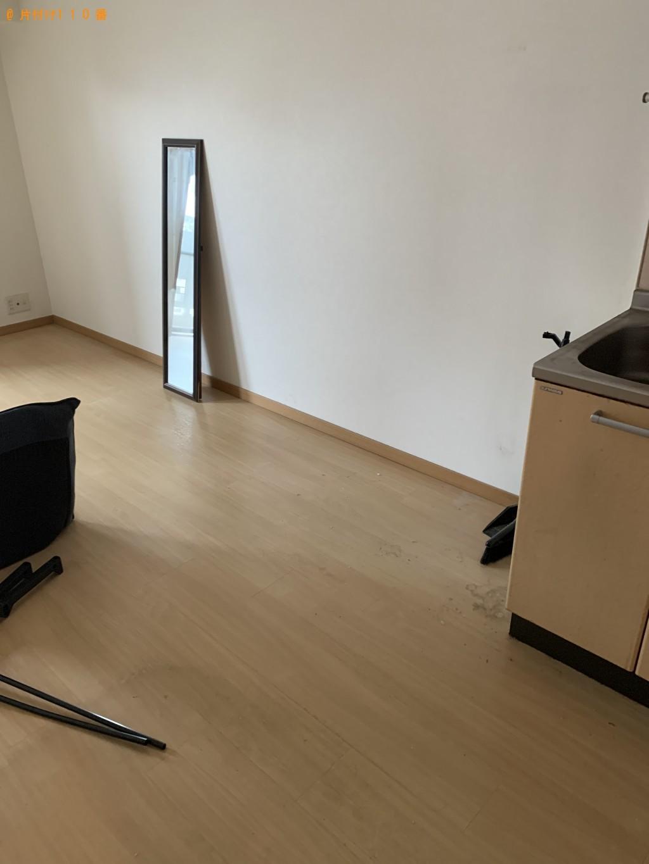 【福岡市中央区】冷蔵庫、洗濯機、ローテーブル、衣装ケース等の回収