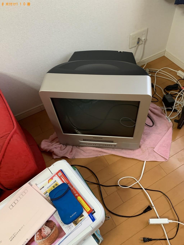 【福岡市東区】テレビ、収納棚、スーツケース、サイドボードの回収
