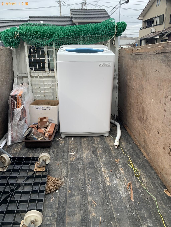 【福岡市西区】洗濯機の回収・処分ご依頼 お客様の声