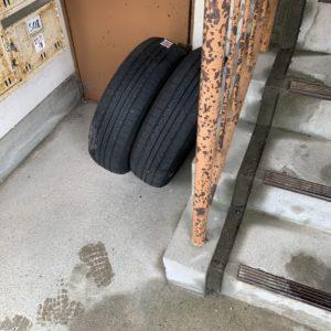 【春日市大和町】自動車タイヤの回収・処分ご依頼 お客様の声