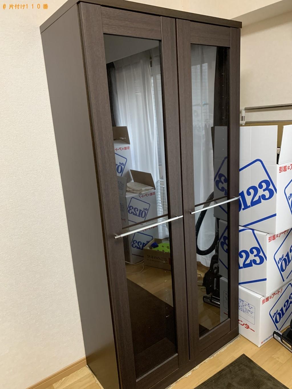 【福岡市中央区】本棚の回収・処分ご依頼 お客様の声
