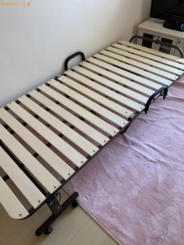 【福岡市博多区】洗濯機、折り畳みベッドの回収・処分ご依頼
