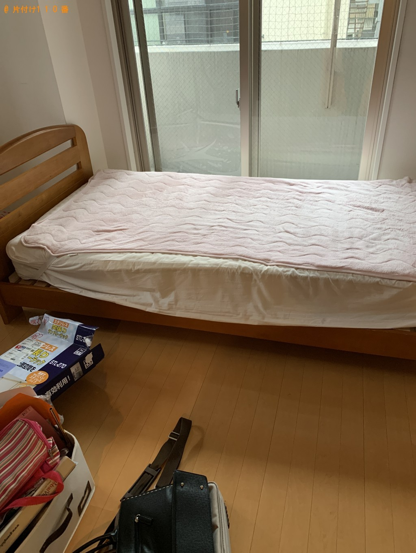 【福岡市博多区】炊飯器、シングルベッド、バッグ等の回収・処分
