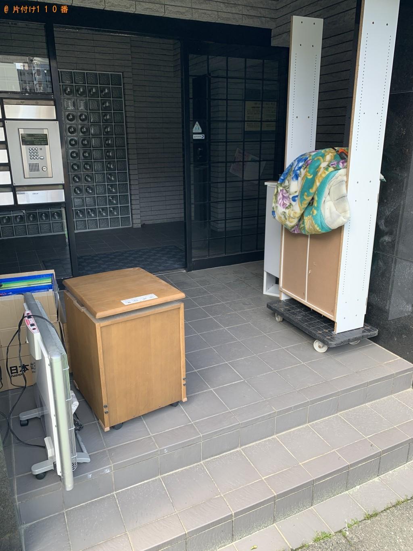 【福岡市南区】整理タンス、クローゼット、学習机の回収・処分ご依頼