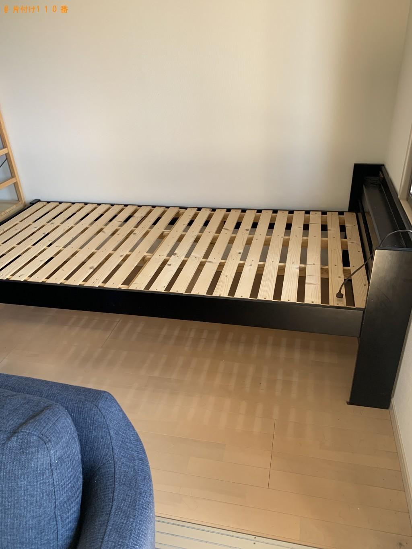 【福岡市博多区】スタンドミラー、シングルベッド等の回収・処分