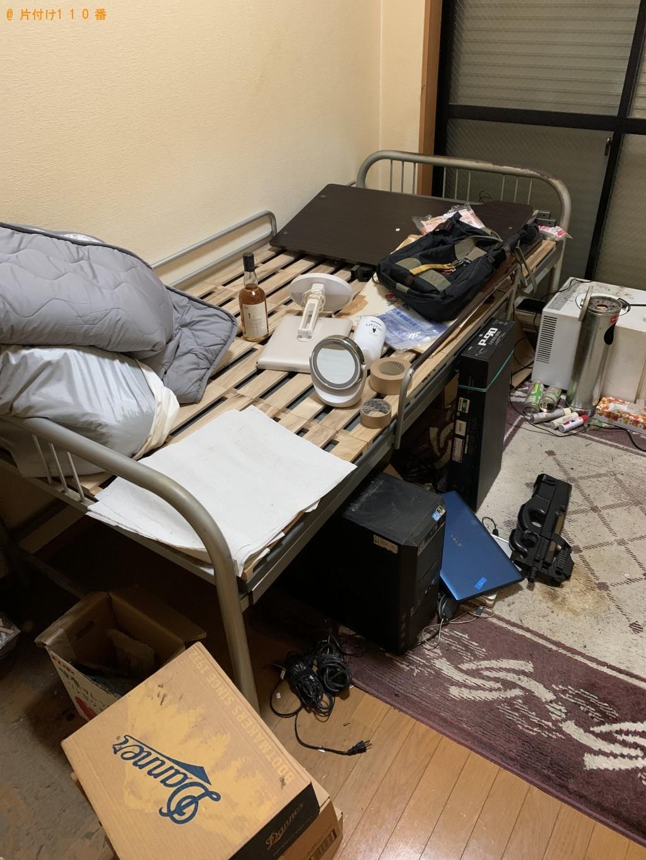 【福岡市中央区】冷蔵庫、パソコン、シングルベッド等の回収・処分