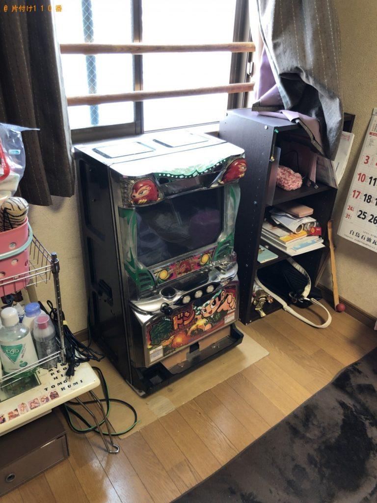 【東白川村】スロット台の回収・処分 お客様の声