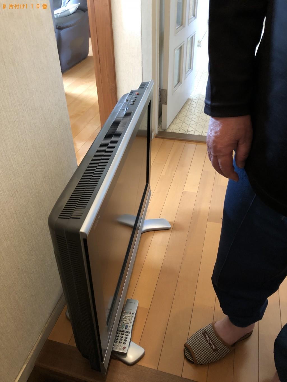 【北九州市八幡東区】テレビの回収・処分 お客様の声