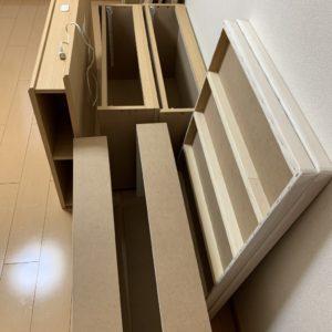 【福岡市南区】セミダブルベッド、ベッドマットレス、椅子等の回収