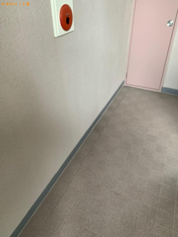 【太宰府市】遺品整理に伴いスタンドミラー、カラーボックス等の回収・処分
