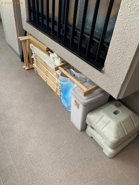 【福岡市城南区】スタンドミラー、カラーボックス等の回収・処分