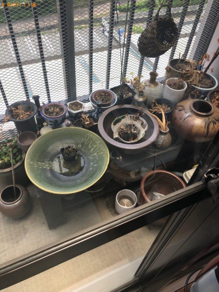 【福岡市西区】遺品整理に伴い鉢植え、つぼ等の回収・処分ご依頼 お客様の声
