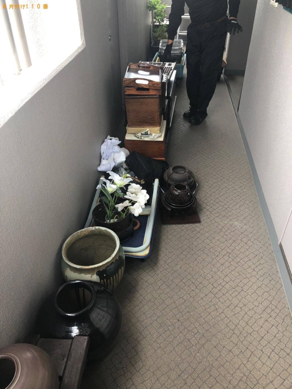 【福岡市西区】鉢植え、つぼ等の回収・処分ご依頼 お客様の声