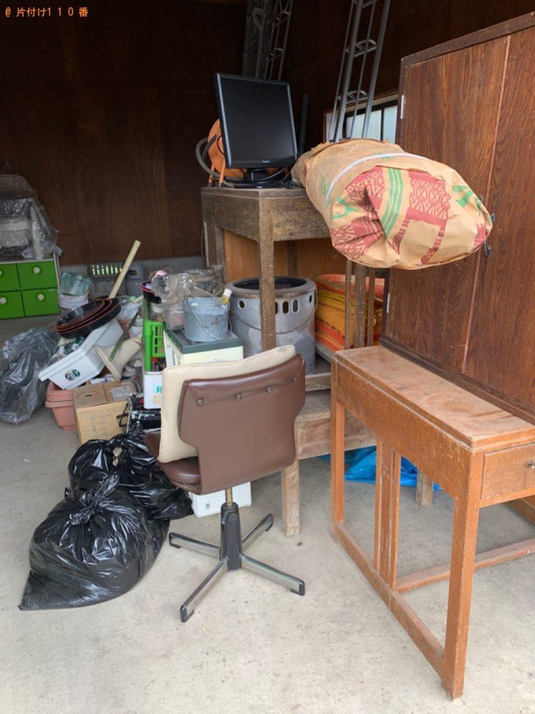 【田川市】遺品整理に伴い机、棚、椅子、布団等の回収・処分ご依頼 お客様の声