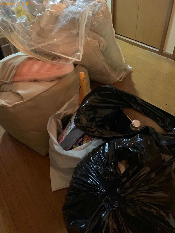 【糟屋郡須惠町】軽トラック1台程度の出張不用品回収・処分ご依頼