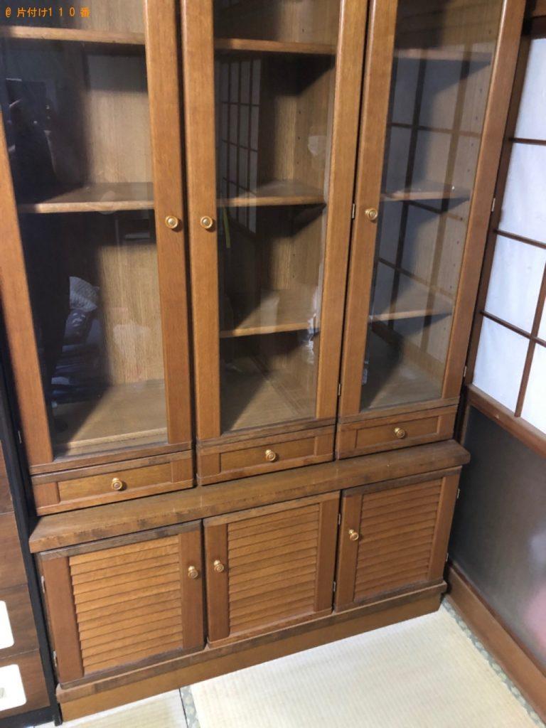 【宗像市】遺品整理で食器棚、一般ごみの回収・処分ご依頼 お客様の声
