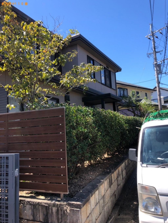【遠賀郡岡垣町】庭木の剪定と不用品の回収・処分ご依頼 お客様の声