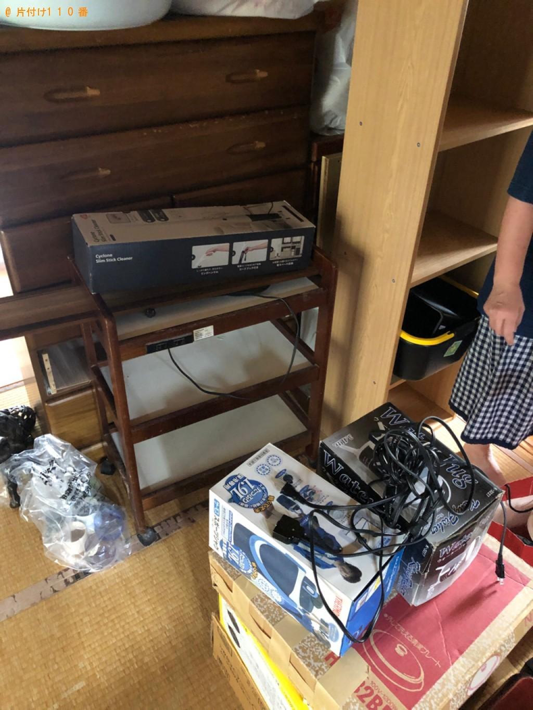 【鞍手郡鞍手町】こたつ、タンス、食器棚、カラーボックス等の回収