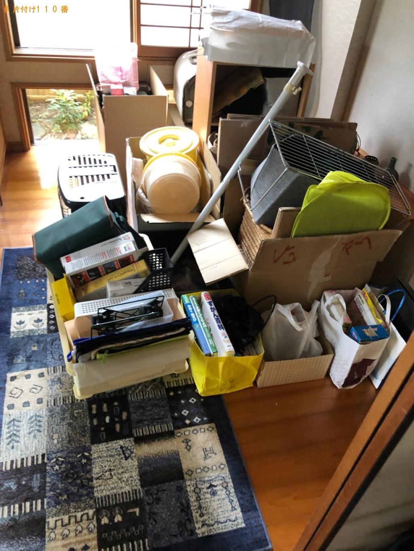 【直方市】こたつ、タンス、食器棚、カラーボックス等の回収