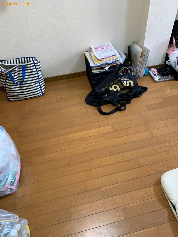 【小郡市】部屋の片付け作業と一般ごみの回収ご依頼