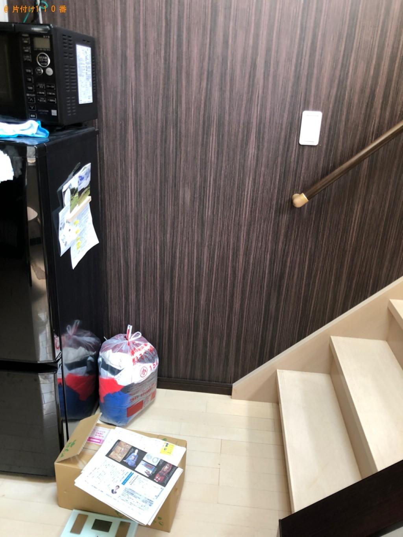 【福岡市西区】カーペット、こたつ、一般ごみ等の回収・処分ご依頼