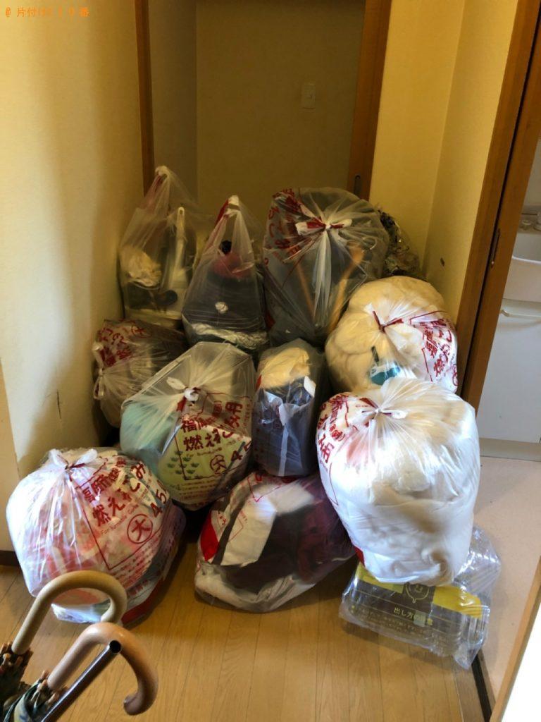【柳川市】遺品整理に伴い椅子、タンス、布団等の回収・処分ご依頼 お客様の声