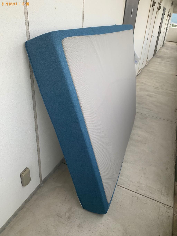 【福岡市早良区】ダブルベッドマットレスの回収・処分ご依頼