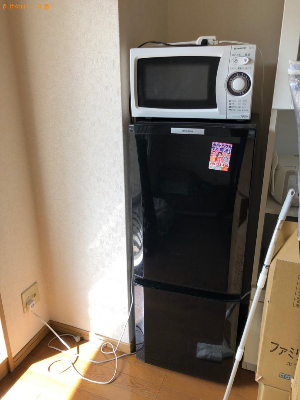 【福岡市中央区】冷蔵庫、洗濯機、電子レンジの回収・処分ご依頼
