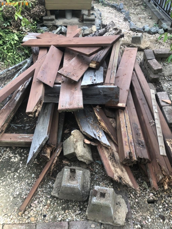 【みやこ町】木材の回収・処分ご依頼 お客様の声