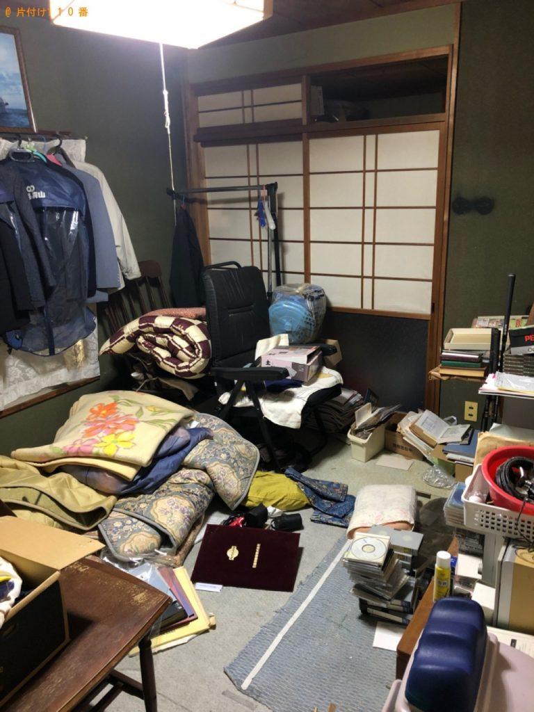 【行橋市】遺品整理でシルバーカー、健康器具、布団、椅子等の回収・処分ご依頼