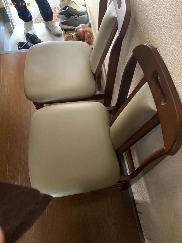 【福岡市博多区】ベッドマットレス付きシングルベッド、鏡台等の回収