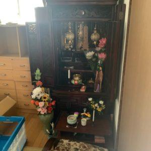 【福岡市南区】仏壇、神棚の回収・処分ご依頼 お客様の声