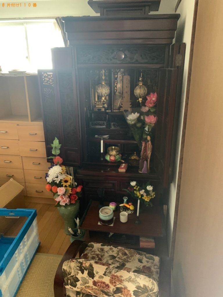 【行橋市】仏壇、神棚の回収・処分ご依頼 お客様の声