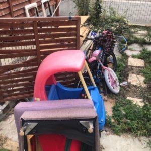 【糟屋郡新宮町】自転車、木材、椅子、子供の乗り物等の回収・処分