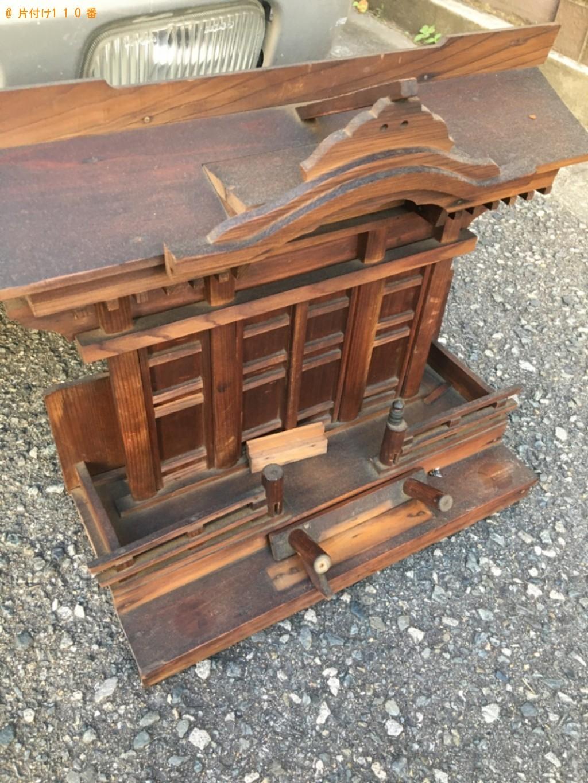 【福岡市】仏壇、お位牌、仏具、遺影の回収・処分ご依頼 お客様の声
