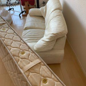 【福岡市東区】マットレス付きシングルベッド、キャリーバッグの回収