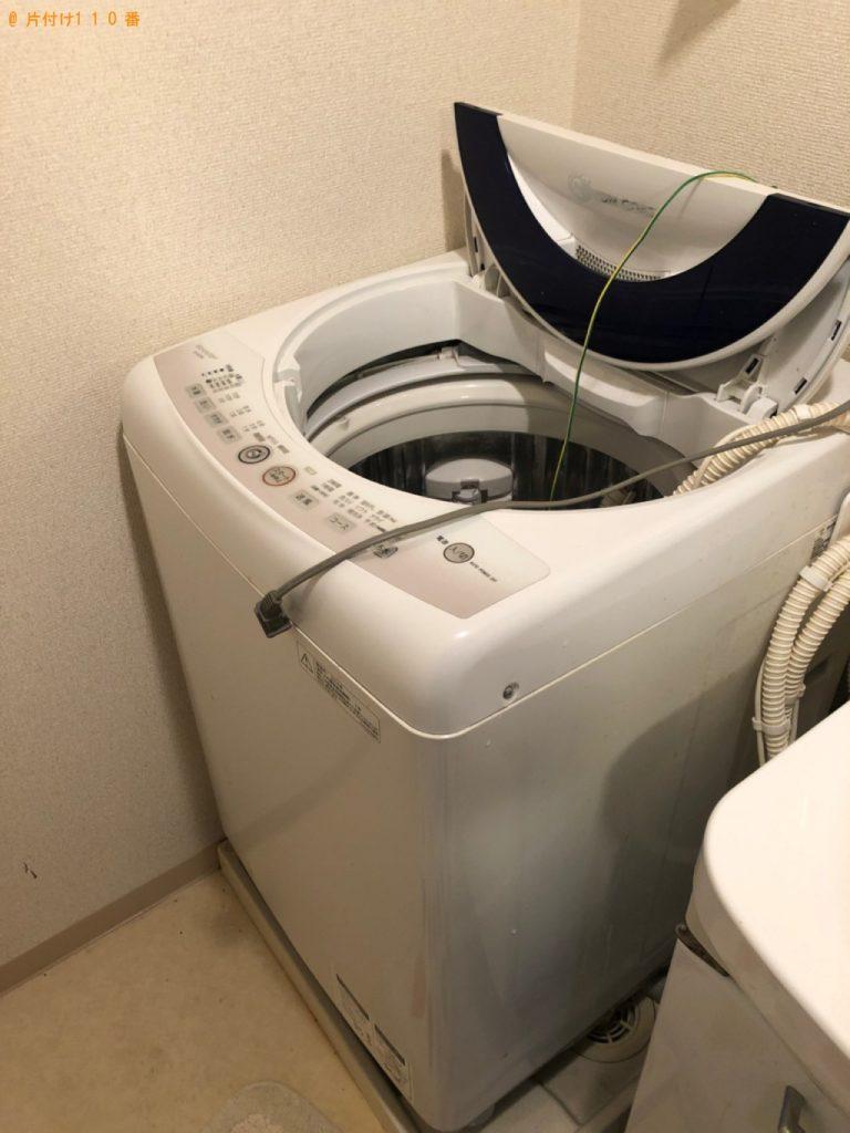 【北九州市八幡西区】洗濯機、メタルラックの回収・処分ご依頼 お客様の声
