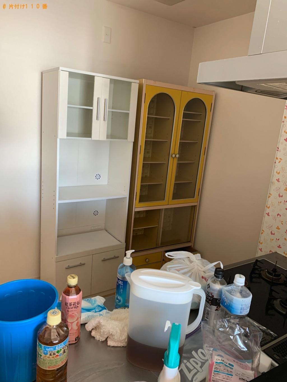 【筑紫野市】遺品整理に伴い洗濯機、本棚、タンス、食器棚等の回収・処分ご依頼