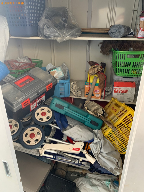 【福岡市南区】倉庫、ベビーカー、カゴ等の回収・処分ご依頼