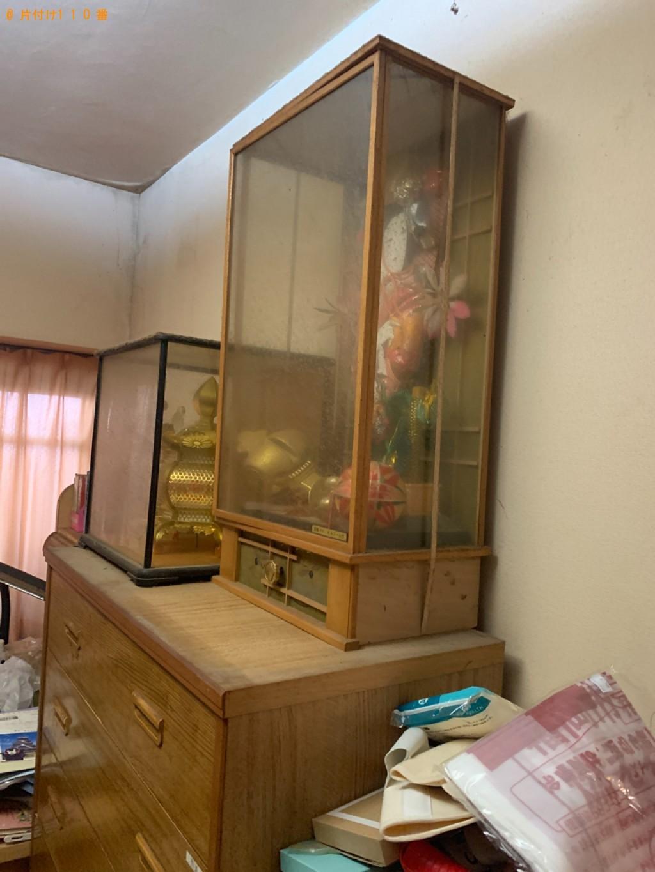 【福岡市早良区】本棚、学習机、カゴ、収納ケース、ゴミ箱等の回収
