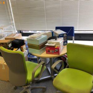 【福岡市博多区】テーブル、椅子、缶、ロッカー等の回収・処分ご依頼