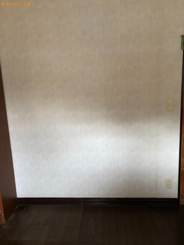 【京都郡みやこ町】婚礼ダンス、整理ダンス、食器棚等の回収・処分