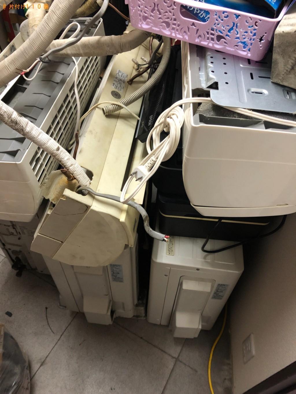 【田川郡川崎町】エアコン、食器棚、アイロン、カゴ等の回収・処分