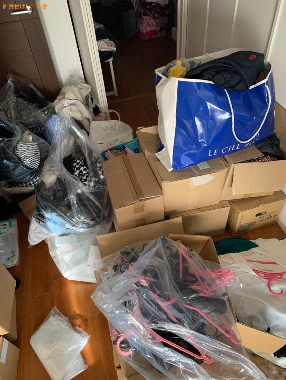 【福岡市中央区】衣類、靴、本等の回収・処分ご依頼 お客様の声