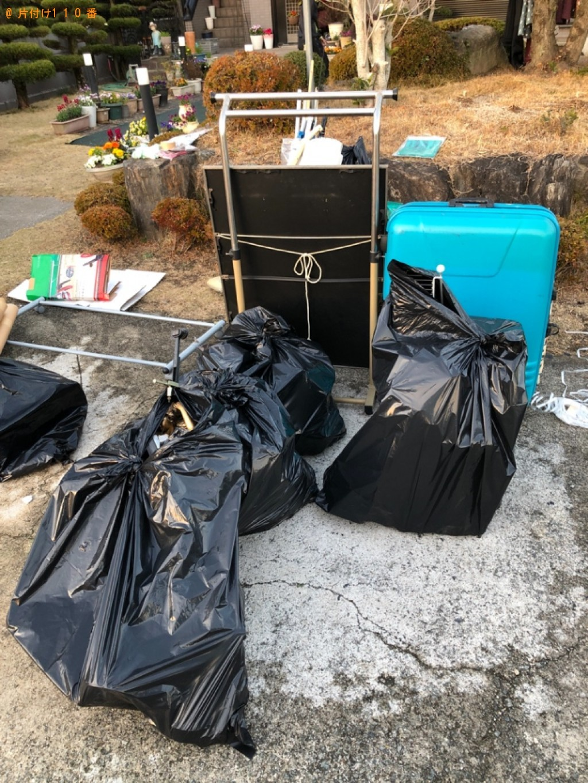 【行橋市】スーツケース、一般ごみの回収・処分ご依頼 お客様の声