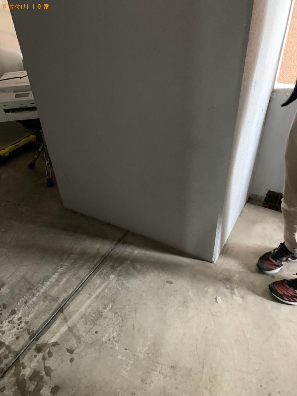 【福岡市中央区】冷蔵庫、ウレタンマットレス、プリンタ―の回収
