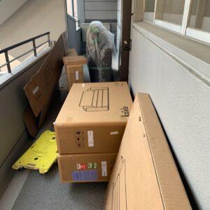 【福岡市中央区】ソファーベッドの回収・処分ご依頼 お客様の声