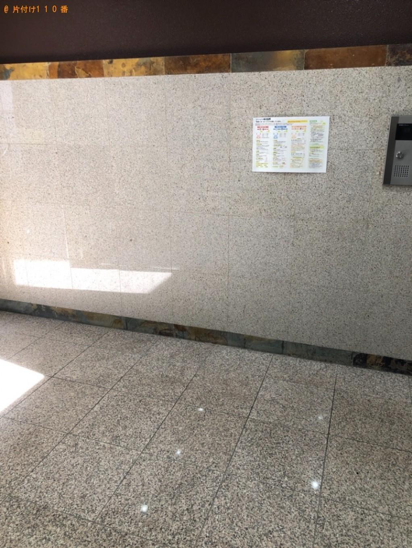 【福岡市博多区】マットレス付きクイーンベッドの回収・処分ご依頼