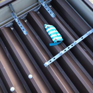 【福岡市東区】屋根に乗った物を取る作業ご依頼 お客様の声