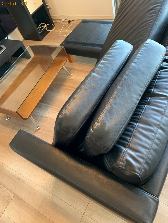 【福岡市博多区】三人掛けソファー、トースター、電動ゴミ箱等の回収